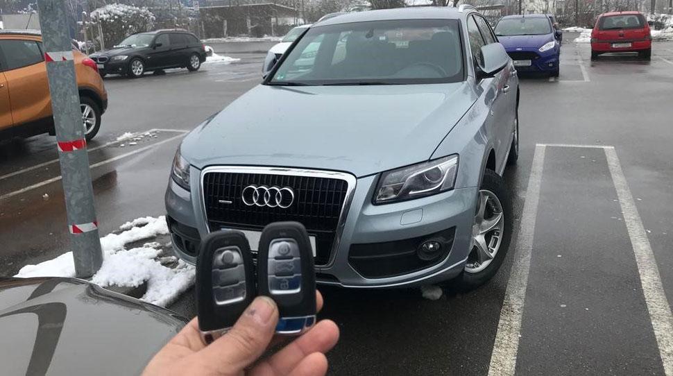 Потерял оба ключа от машины что делать